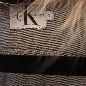 Calvin Klein Jeans Jackets & Coats - Women's Cropped Calvin Klein Denim Jacket